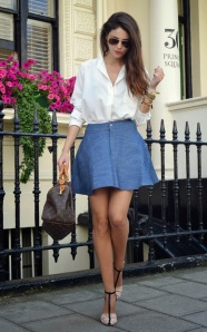 white blouse fashion
